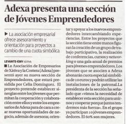 Celia Dominguez presidenta emprendedores Xàtiva