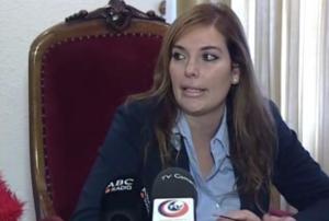 Celia Dominguez rueda de prensa