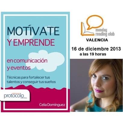 Presentación Motívate y Emprende en comunicación y eventos - Valencia
